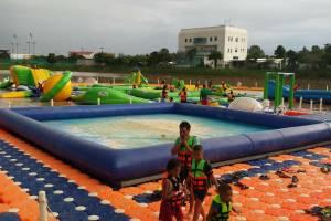 Water park fair in Korat Province