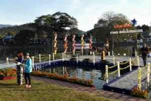 Mae Hong Son floating platform