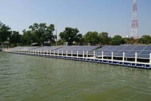 Solar Farm Floating