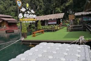 Buoy Jigsaw Raft Klong Ka Ratchaprapha Dam