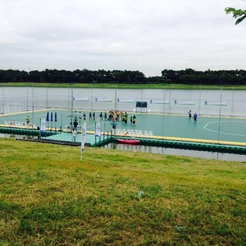 Floating Futsal Field in Nong Bon Bueng