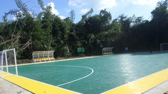 สนามฟุตซอล ตำบล ยางน้ำกลัดใต้