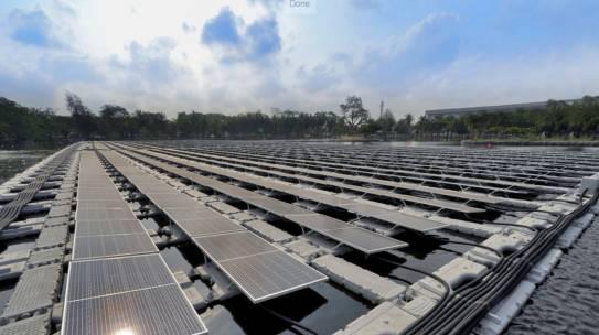 สหพัฒน์ ลุยนวัตกรรมพลังงานแสงอาทิตย์ นำร่องแบบทุ่นลอยน้ำในสวนอุตฯศรีราชา